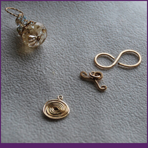 Findings Workshops with Twisted Chain, Clasp and Swirls from Specific Skills Jewelry Class
