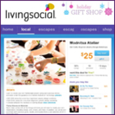 LivingSocial Gemstone Jewelry Design Class Deal 113013
