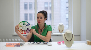 Online Jewelry Video Series Tutorial Color Theory Lesson