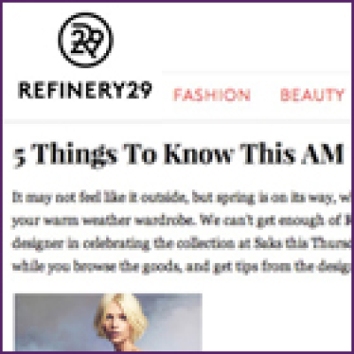 Refinery 29 Bridesmaid Jewelry Collection, February 2013