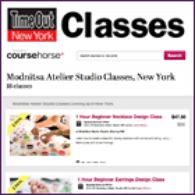 Jewelry Design Class Deal on TimeOut NY